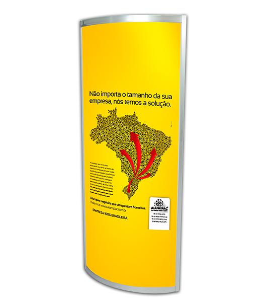 TOTEM PUBLICITÁRIO SEM ILUMINAÇÃO 2